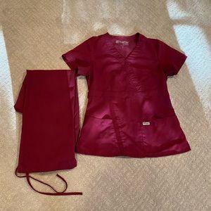 Greys Anatomy Nursing Scrub Set